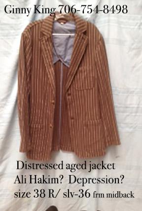 Jacket used aged